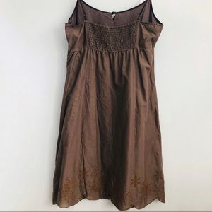 Esprit Dresses - ESPRIT Cotton Spaghetti Summer Dress Brown